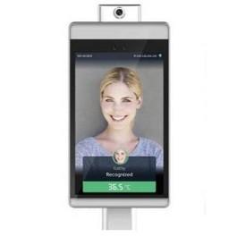 Vault F1T10K - Leitor Biométrico Facial com Medição de Temperatura Corporal e Uso de Máscar