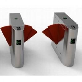 Catraca de Acesso tipo Flap automática Vault Assa Abloy VAAFLXXXPcD PNE